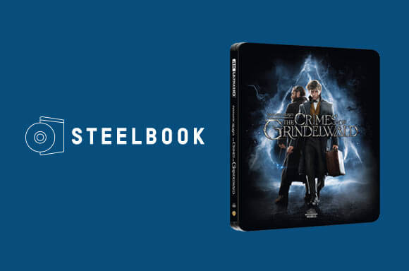 The Crimes Of Grindelwald Steelbook