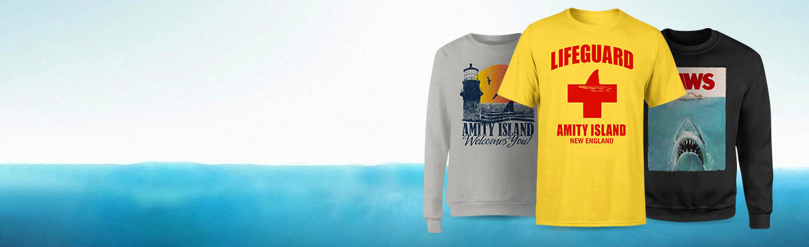 OFFICIALLY LICENSED JAWS CLOTHING