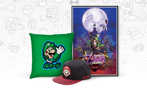 Official Nintendo merchandise
