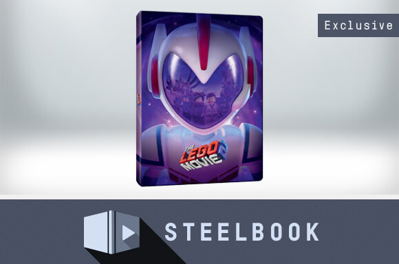 THE LEGO MOVIE 2 3D STEELBOOK