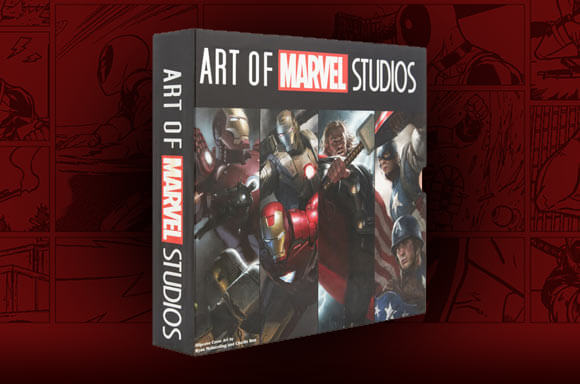 ART OF MARVEL STUDIOS - 4 BOOK SET IN DELUXE SLIPCASE