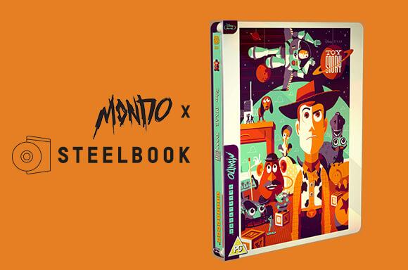 TOYSTORY MONDO X STEELBOOK