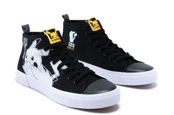 POKÉMON 25TH ANNIVERSARY HIGH TOPS   Limited Edition – Zavvi Exclusive