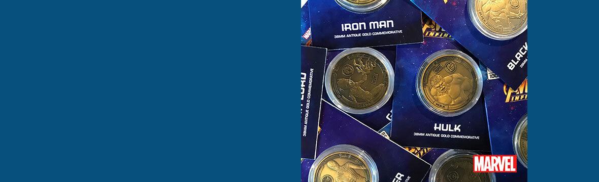 Marvel Coins