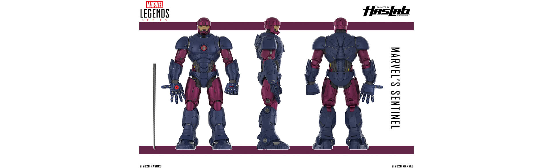 Marvel X-Men Sentinel Image from the Comic Books
