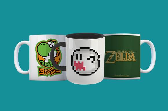 4 Mugs For £15!