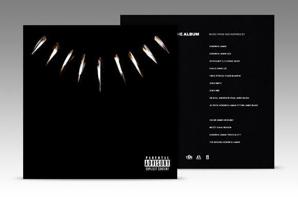 BLACK PANTHER - DAS ALBUM (CD)
