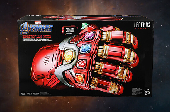 ENDGAME POWER GAUNTLET REPLIKAT