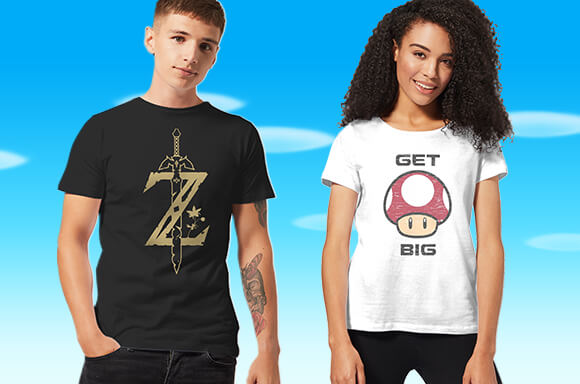 2 T-SHIRTS ZUM PREIS VON 1