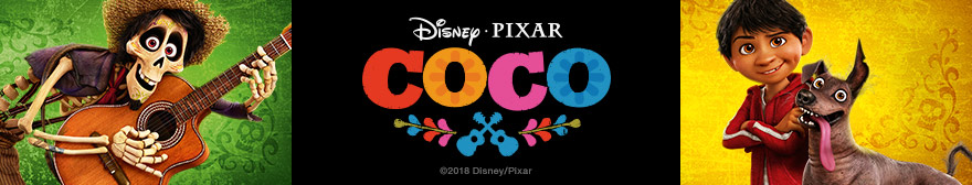 Disney Coco clothing t-shirts and sweatshirts