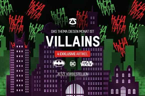VILLAINS ZBOX