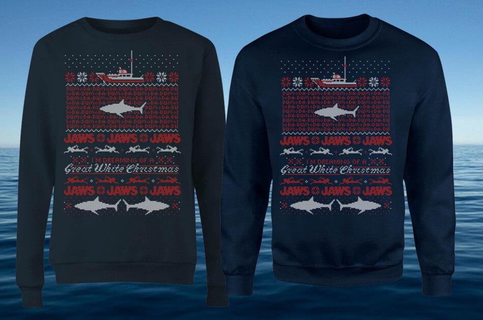 JAWS WEIHNACHTSPULLI NUR 20,99€ + GRATIS VERSAND!