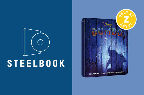 DUMBO 4K UHD LIMITED EDITION STEELBOOK