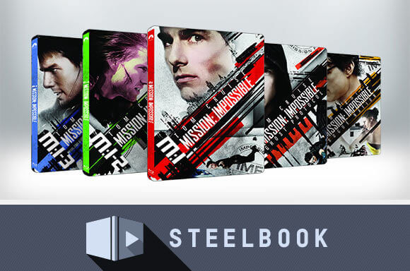 MISSION IMPOSSIBLE STEELBOOKS