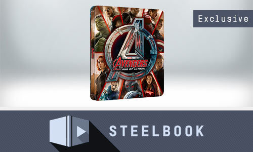 AVENGERS: AGE OF ULTRON 4K UHD LIMITED EDITION STEELBOOK (INKL. 2D VERSION)