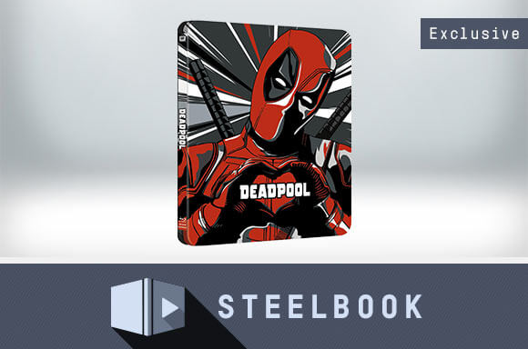 DEADPOOL 4K ULTRA HD LIMITED EDITION STEELBOOK
