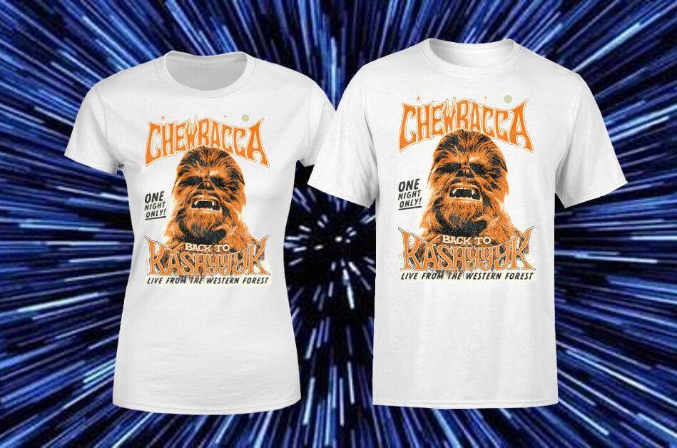 CHEWBACCA T-SHIRT NUR 10,99€ + GRATIS VERSAND