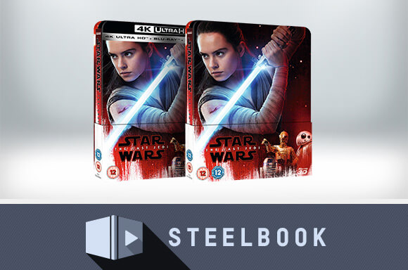 STAR WARS: DIE LETZTEN JEDI- ZAVVI EXCLUSIVE LIMITED EDITION STEELBOOK