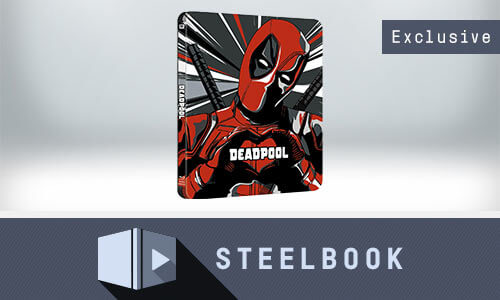 Deadpool - 4K Ultra HD Zavvi Exklusives Limited Edition Steelbook