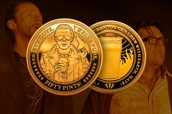Cornetto Trilogie Sammelmünzen Set
