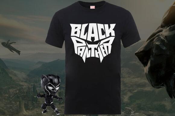 GRATIS BLACK PANTHER T-SHIRT!