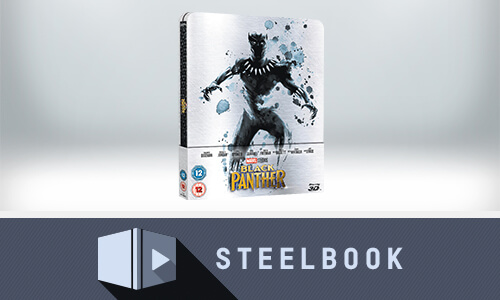 BLACK PANTHER 3D LIMITED EDITION STEELBOOK (INKL. 2D VERSION)