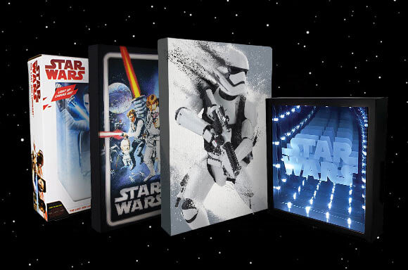 STAR WARS WALL ART MEGA PAKET