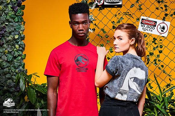 JURASSIC PARK PRIMAL 2 CLOTHING COLLECTION