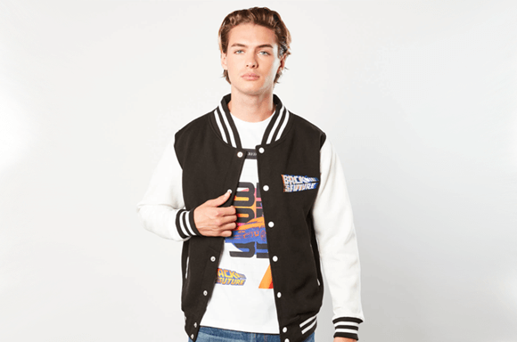 Back to the Future Varsity Jacket