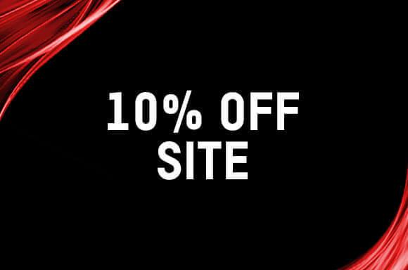 10% OFF SITE