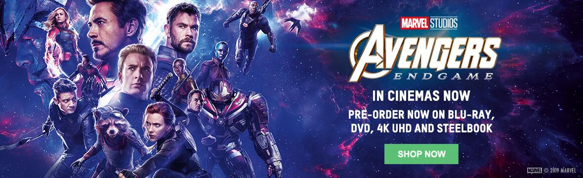Avengers Endgame Merchandise Zavvi