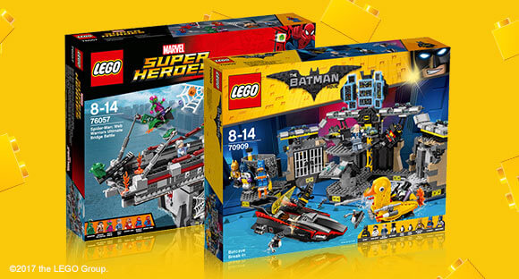 PRICE DROP ON SELECTED LEGO