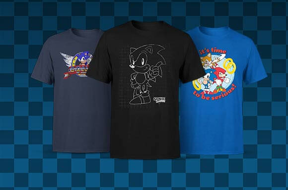 OFFICIAL SONIC THE HEDGEHOG CLOTHING