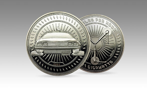 BACK TO THE FUTURE COLLECTOR'S COIN