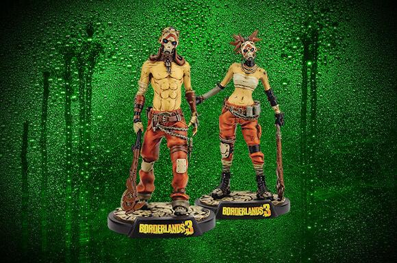 2 For £14.99 Borderlands Figures