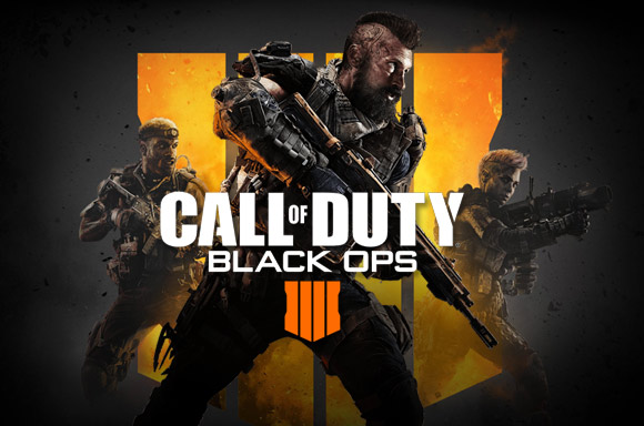 CALL OF DUTY:<BR>BLACK OPS 4
