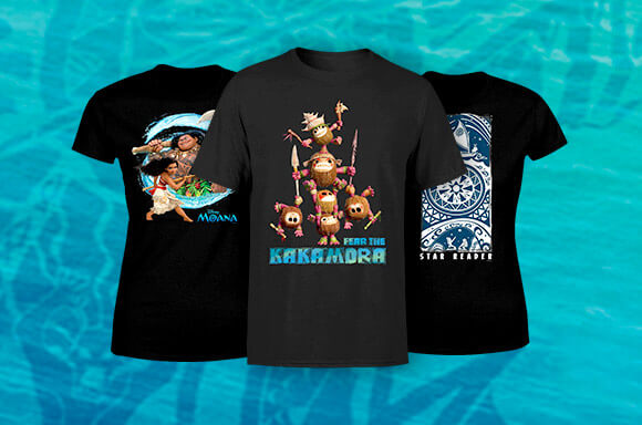 MOANA LICENSED APPAREL