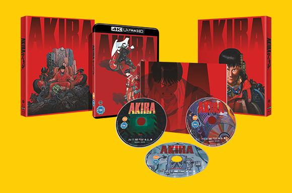 AKIRA - Limited Edition 4K Ultra HD