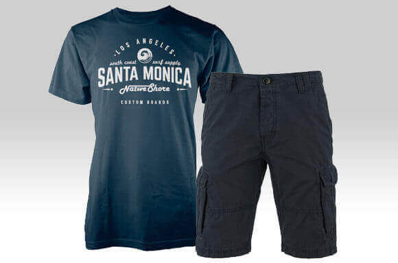 T-SHIRT & SHORTS ONLY £25
