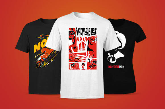 THE INCREDIBLES 2 LICENSED APPAREL