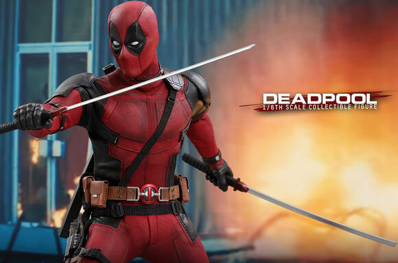 DEADPOOL 2 1/6 MASTERPIECE ACTION FIGURE 31cm