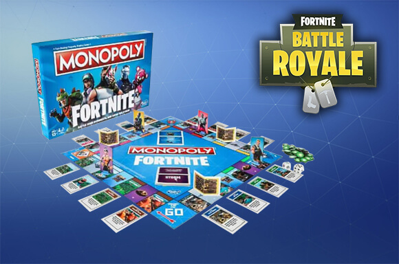 OFFICIAL FORTNITE MONOPOLY