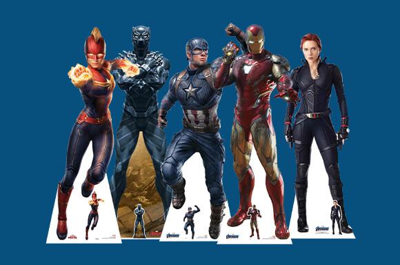 10% Off Marvel Cutouts