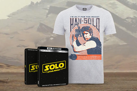 3D & 4K STEELBOOK T-SHIRT BUNDLE!