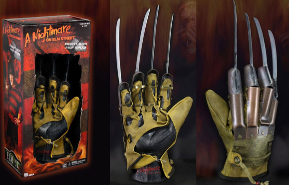 NIGHTMARE ELM ON ELM STREET REPLICA GLOVE!