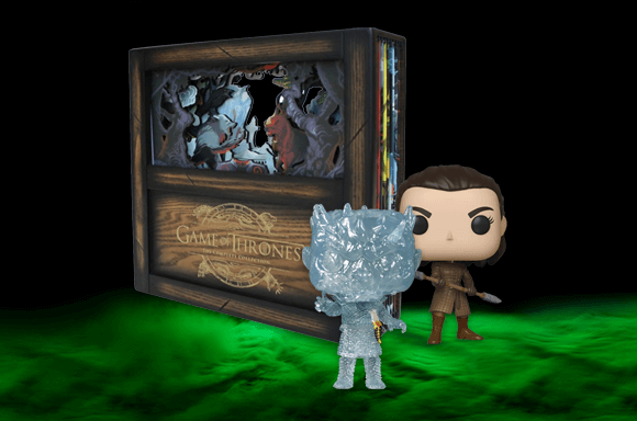 GAME OF THRONES<BR> COMPLETE COLLECTOR'S EDITION + 2 FREE POP! VINYLS