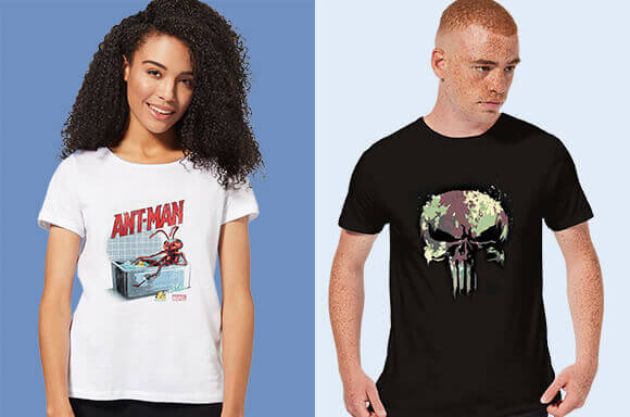 30% OFF ALL MARVEL CLOTHING