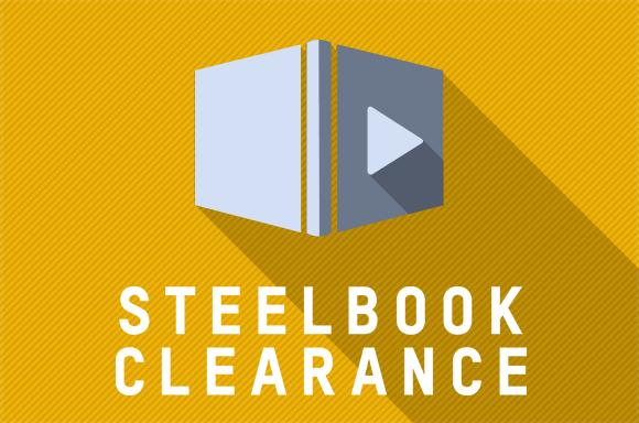 STEELBOOK CLEARANCE