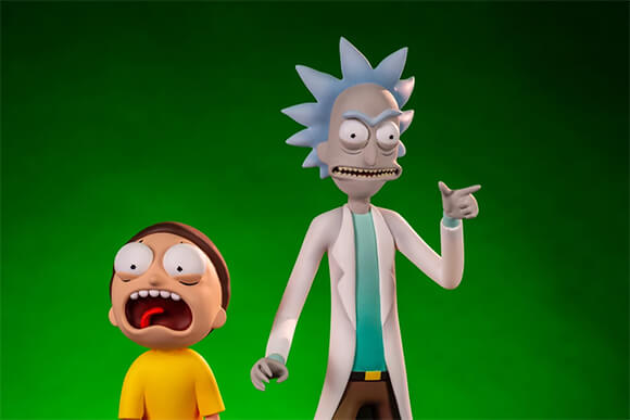 RICK AND MORTY<br>MONDO FIGURES
