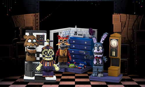 FIVE NIGHTS AT FREDDYS FIGURES